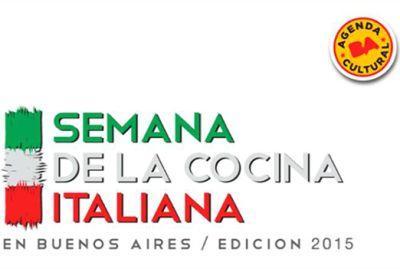 3 edici n de la semana de la cocina italiana en buenos for Cocina 1 dia para toda la semana