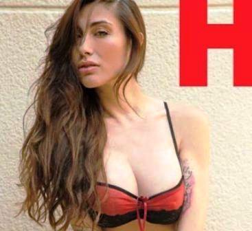 Belen Calendario Hot.Belen Lavallen Es La Figura Del Calendario De La Revista H